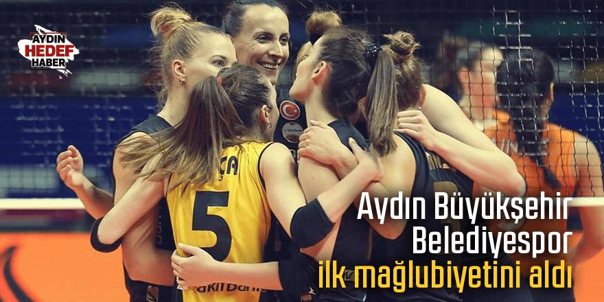 Aydın Büyükşehir Belediyespor ilk mağlubiyetini aldı