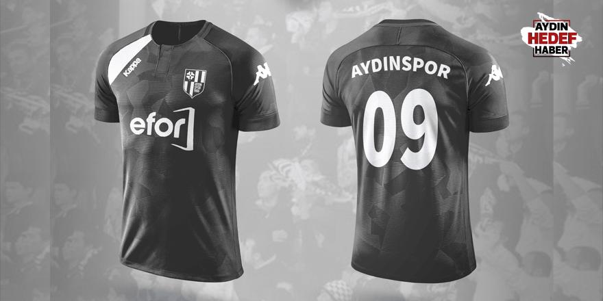 Aydınspor'un siyah forması görücüye çıktı