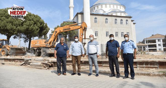 İncirliova Belediyesi'nden Acarlar'a hizmet seferberliği