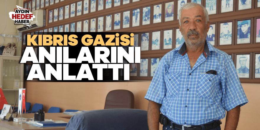 Kıbrıs Gazisi anılarını anlattı