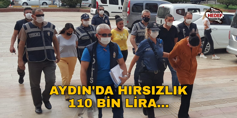 Aydın'da hırsızlık! 110 bin lira...