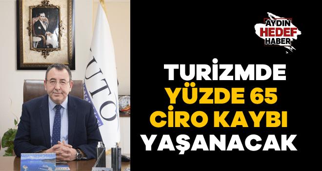 Akdoğan: Turizmde yüzde 65 ciro kaybı yaşanacak
