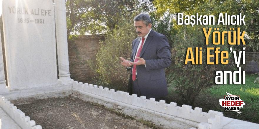Alıcık, Kurtuluş Savaşı Kahramanı Yörük Ali Efe'yi andı