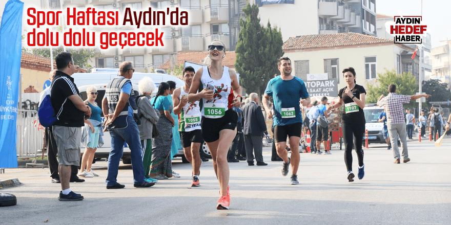 Spor Haftası Aydın'da dolu dolu geçecek