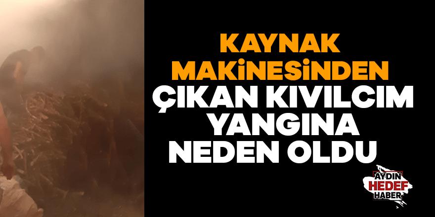 Yılmazköy'de yangın