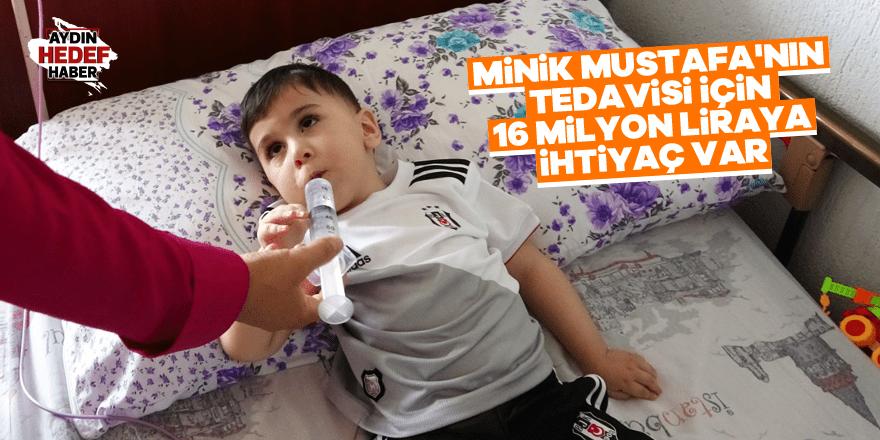 Minik Mustafa'nın tedavisi için 16 milyon liraya ihtiyaç var