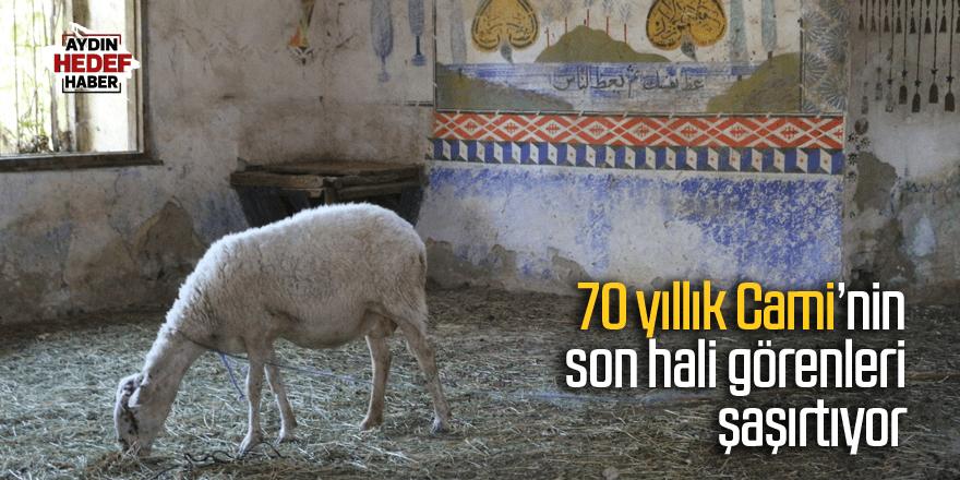 70 yıllık Cami'nin son hali görenleri şaşırtıyor