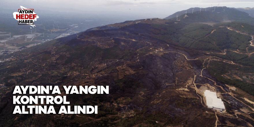 Aydın'a yangın kontrol altına alındı