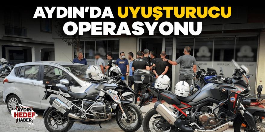 Aydın'da uyuşturucu operasyonu: 3 gözaltı