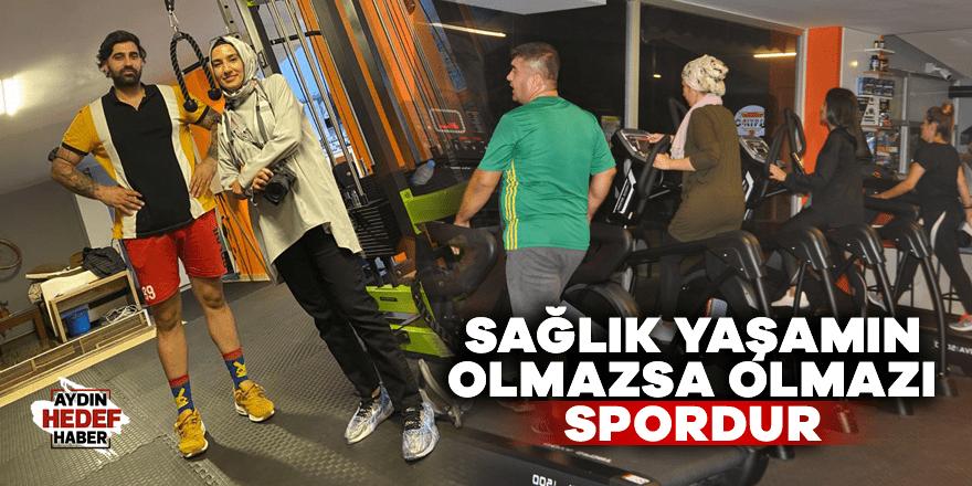 Sağlık yaşamın olmazsa olmazı spordur
