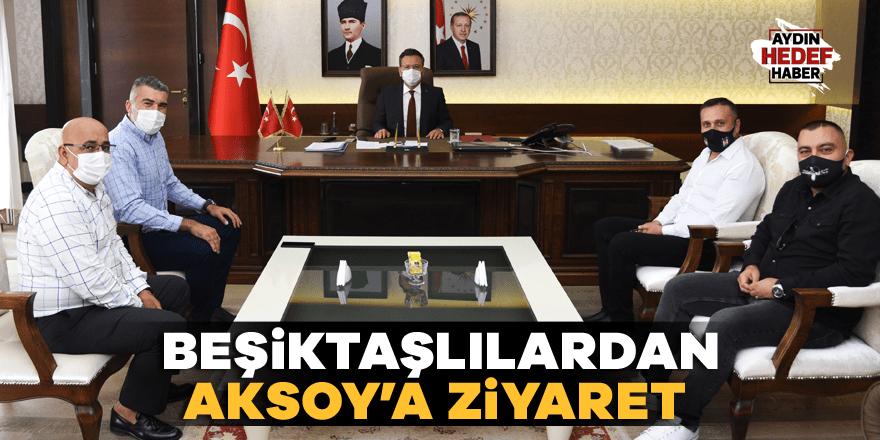Beşiktaşlılardan Aksoy'a ziyaret