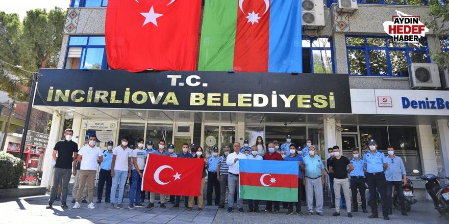 Kardeş ülke Azerbaycan'a destek