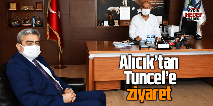 Alıcık'tan Tuncel'e ziyaret