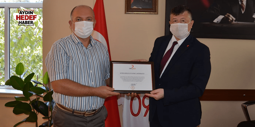 Fillikçioğlu'na teşekkür belgesi verdiler