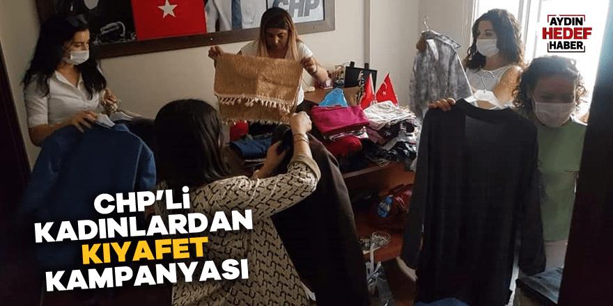 CHP'li kadınlardan kıyafet kampanyası