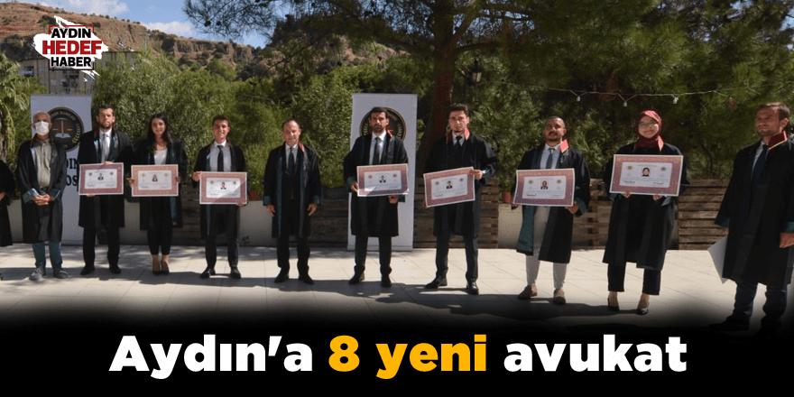 Aydın'a 8 yeni avukat