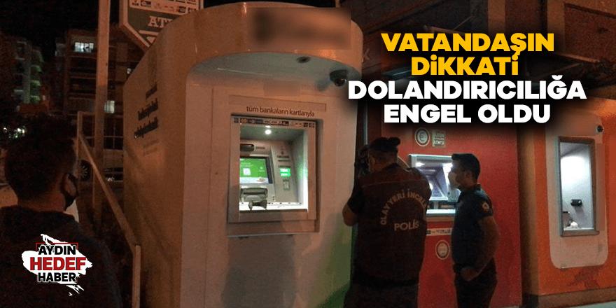 ATM'de kopyalama aparatı bulundu