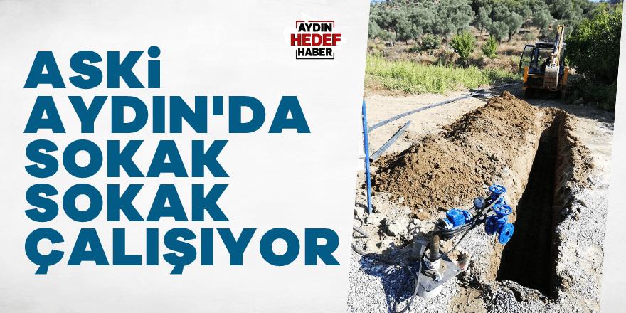 ASKİ Aydın'da sokak sokak çalışıyor