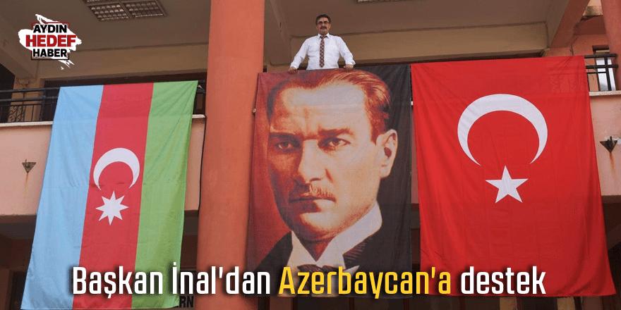 Başkan İnal'dan Azerbaycan'a destek