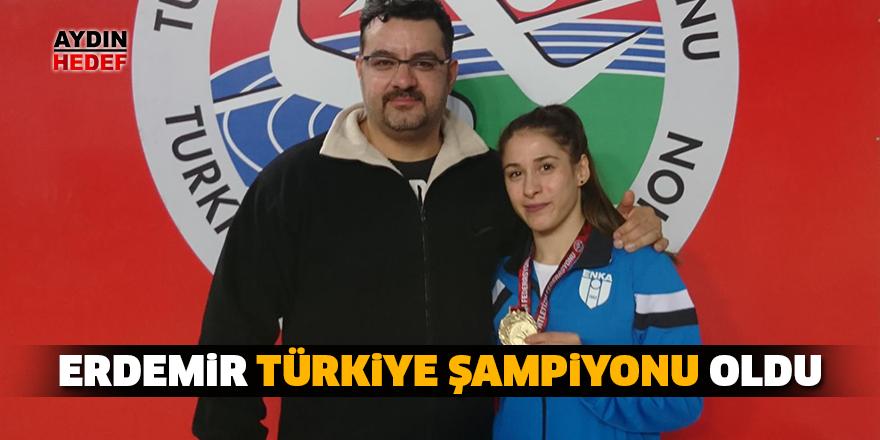 Erdemir, Türkiye Şampiyonu oldu