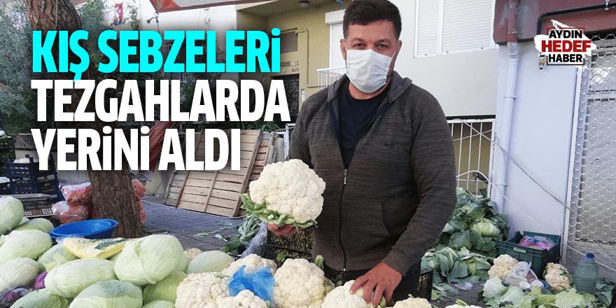 Kış sebzeleri tezgahlarda yerini aldı