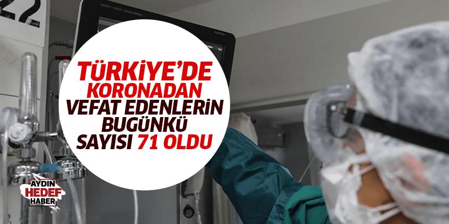 Türkiye'nin bugünkü korona tablosu
