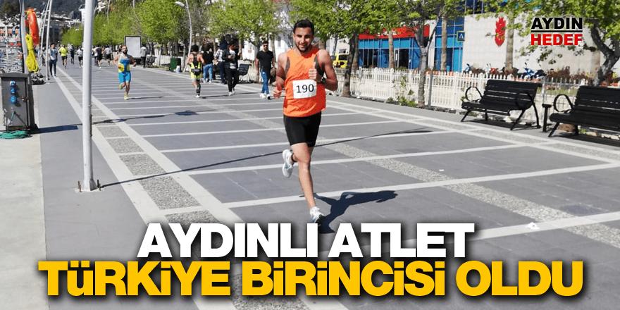 Aydınlı atlet Türkiye birincisi oldu