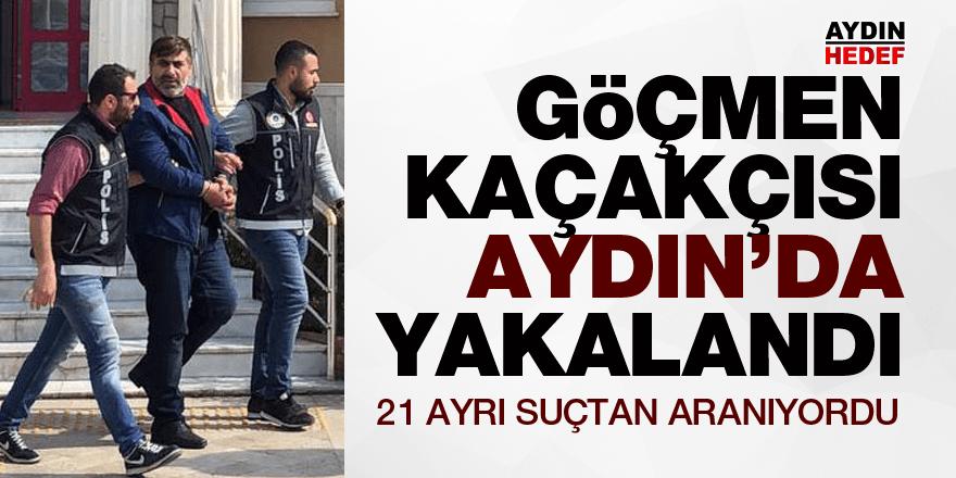 15,5 yıl cezası olan göçmen kaçakçısı yakalandı