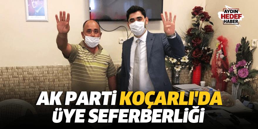 AK Parti Koçarlı'da üye seferberliği