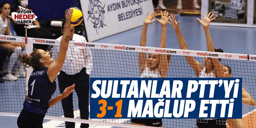Aydın Büyükşehir Belediyespor PTT'yi 3-1 mağlup etti