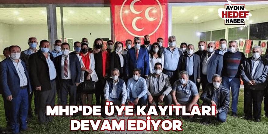 MHP'de üye kayıtları devam ediyor