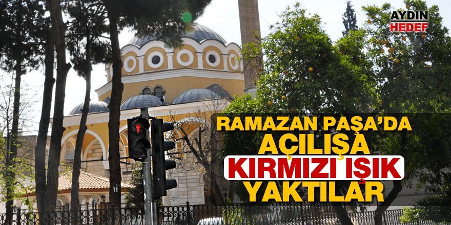 Ramazan Paşa Camiinin açılışı ertelendi