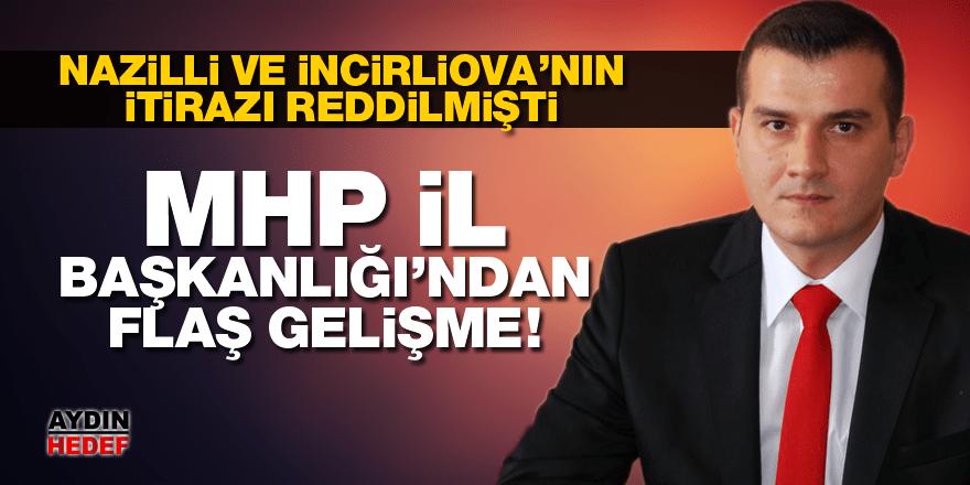 MHP İl Başkanlığı'ndan flaş gelişme!