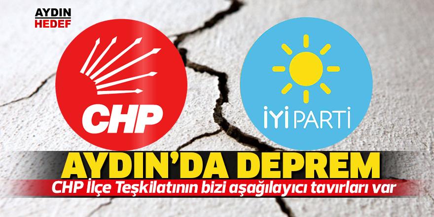 Millet İttifakı Aydın'da deprem