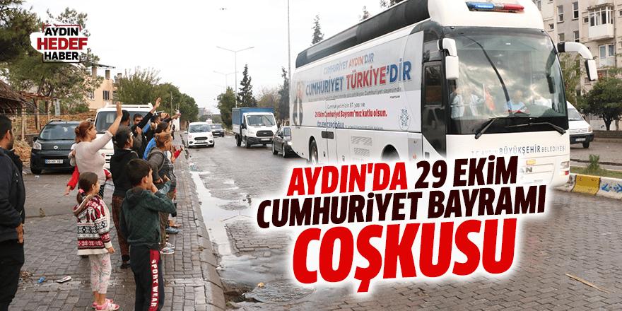 Aydın'da 29 Ekim Cumhuriyet Bayramı coşkusu