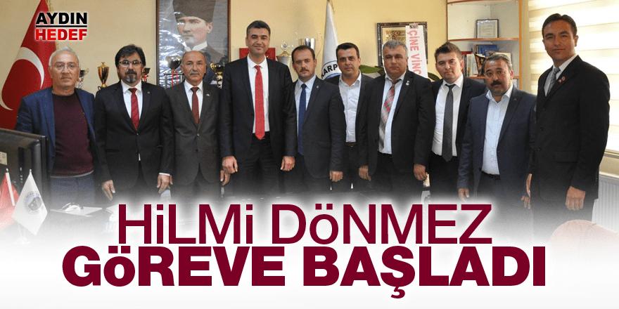 Karpuzlu Belediye Başkanı Dönmez  göreve başladı