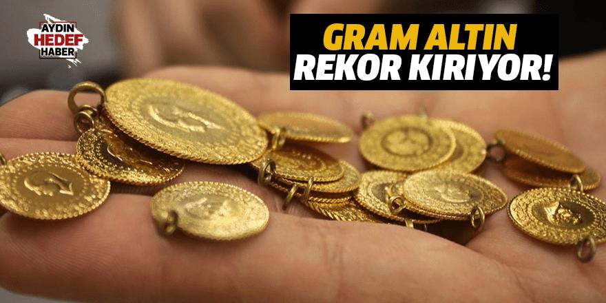 Gram altın rekor kırıyor!