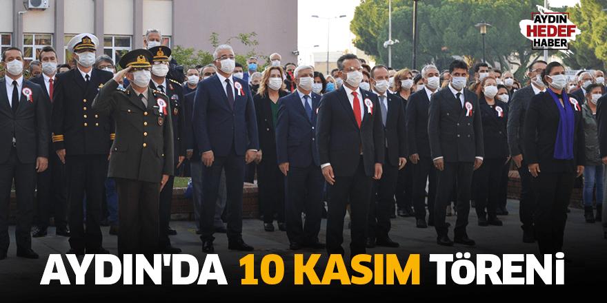 Aydın'da 10 Kasım töreni