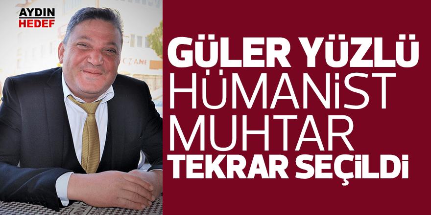 Güler yüzlü hümanist muhtar tekrar seçildi
