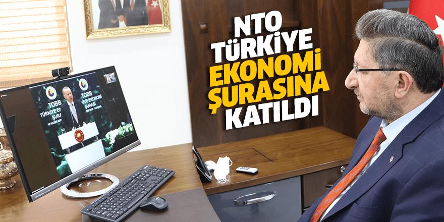 NTO Türkiye Ekonomi Şurasına katıldı