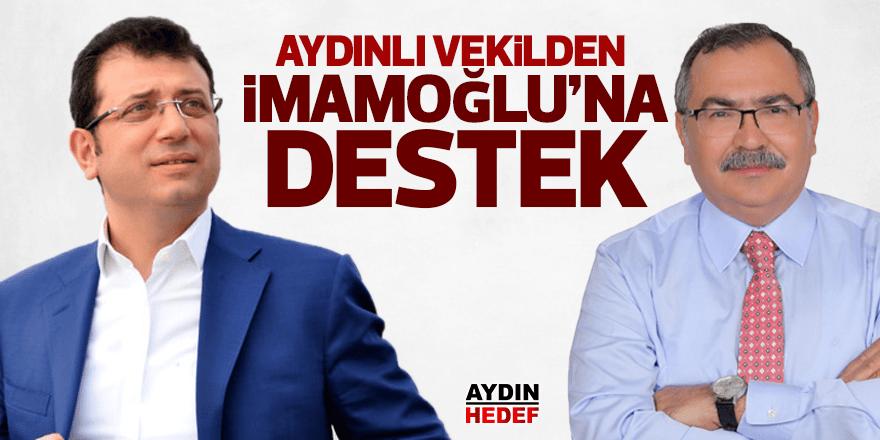 Milletvekili Bülbül'den İmamoğlu'na destek