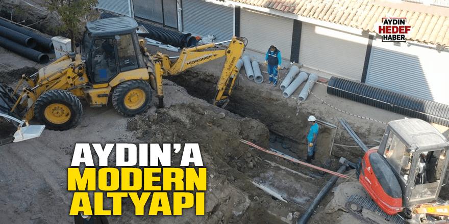 Aydın'a modern altyapı