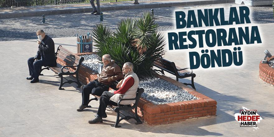 Banklar restorana döndü