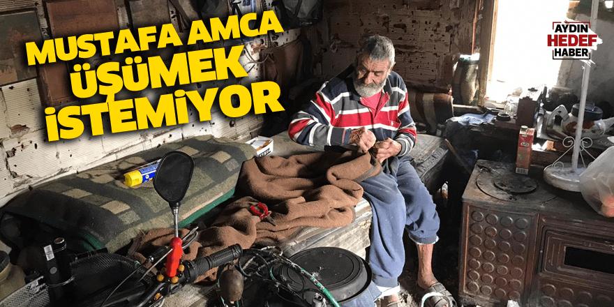 Mustafa Amca üşümek istemiyor