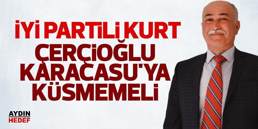 """İYİ Partili Kurt, """"Çerçioğlu Karacasu'ya Küsmemeli"""""""