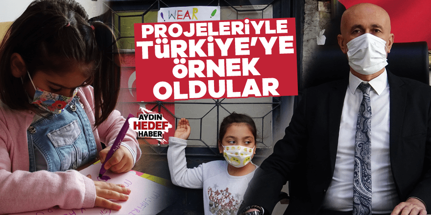 Aydın'dan Türkiye'ye örnek oldular
