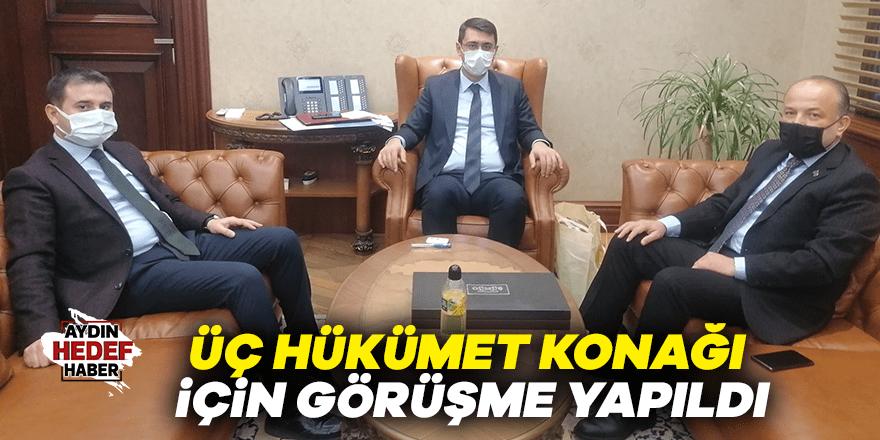 Aydın'da üç hükümet konağı için görüşme yapıldı