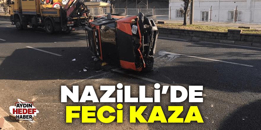 Nazilli'de feci kaza: 4 yaralı