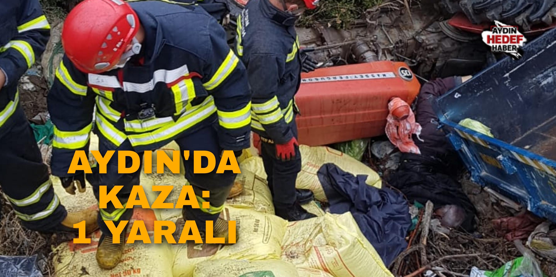 Germencik'te kaza: 1 yaralı