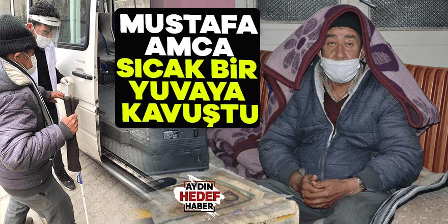 Mustafa Amca huzurevine yerleştirildi